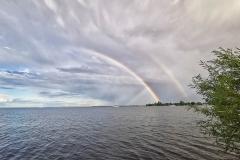 Rainbows on Bay of Quinte 2